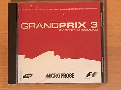 Grand Prix 3 by Microprose - PC CD Rom game