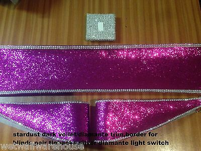 Glitter Fabric Tiebacks,blind Border,light Switch