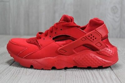 7b27b5175 38 Youth Nike Air Huarache Triple Red GS PS TD All October Shoes 7Y 654275-