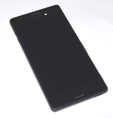 Original Sony Xperia M4 Aqua E2306 LCD Display Touchscreen Housing Black