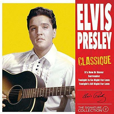 [The Signature Collection Vol. 2] Classique, PRESLEY,ELVIS, New,  Audio CD, FREE