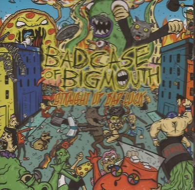 Bad Case Of Big Mouth - Straight Up Bad Luck (CD 2014) NEW/SEALED