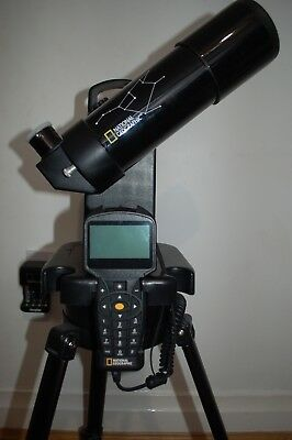 Computer controlled national geographic telescope