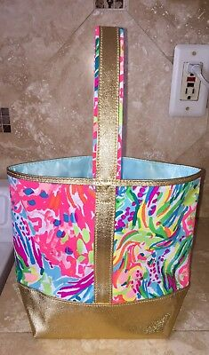 NWOT Lilly Pulitzer 'Fan Sea Pants' Wine Tote