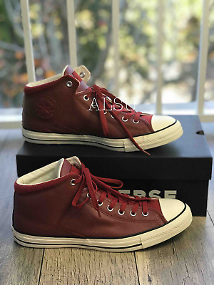 Sneakers Men s Converse Chuck Taylor All Star Hight Street Hight Top Terra  Red 9b4c502c0