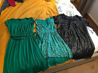 Bundle Of 3 Maternity Dresses, French Connection, Asos, Heavenly, Size 12 And 14