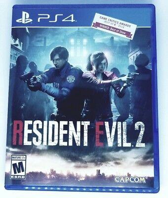 Resident Evil 2 Remake Right To Your Door (PS4 PlayStation 4 2019)