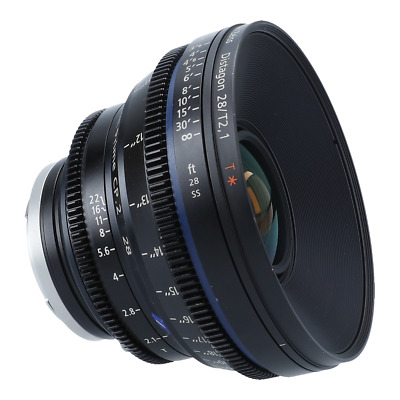 Zeiss Compact Prime CP.2 28mm T/2.1 2.1 T* (Feet) Lens with PL & EF mounts
