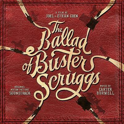The Ballad Of Buster Scruggs ORIGINAL MOVIE SOUNDTRACK New Sealed Vinyl LP