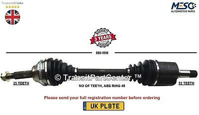 DS2821-12 Month Warranty! 1x OE Quality Drive shaft Front Axle Right