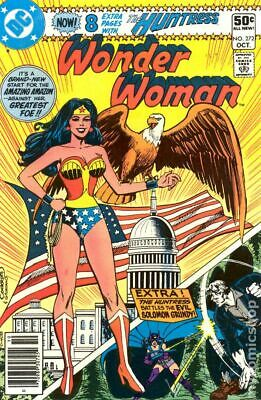 Wonder Woman (1st Series DC) #272 1980 VG 4.0 Stock Image Low Grade