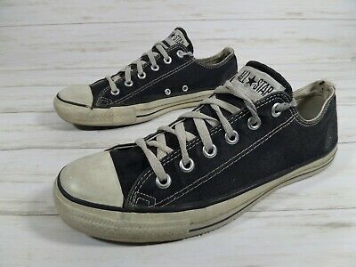 210f1e9aa3d6 VINTAGE CONVERSE JACK PURCELL MADE IN USA MENS sz 8 BLUE CANVAS ...