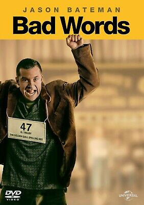 3 CENT DVD - Bad Words . . . *FREE Shipping on any 4 DVDs*