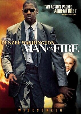 3 CENT DVD - Man on Fire . . . *FREE Shipping on any 4 DVDs*