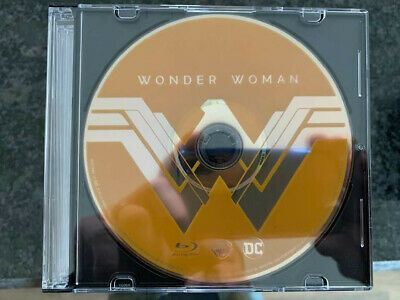 Wonder Woman 2018 Blu-Ray Disc ONLY No Digital/Slip/Cover FAST FREE Combine SHIP