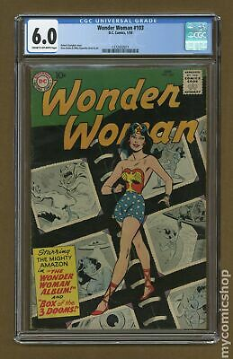 Wonder Woman (1st Series DC) #103 1959 CGC 6.0 1272432011