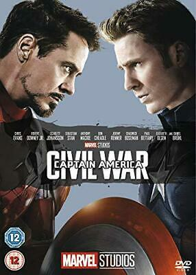 Captain America: Civil War [DVD] [2016], DVD, New, FREE & Fast Delivery