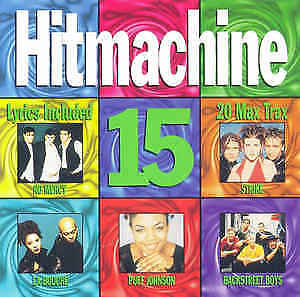 Hit Machine 15 - VARIOUS ARTISTS CD  jon stevens, oasis, dead or alive.