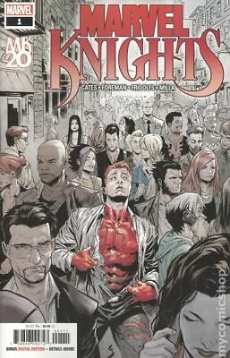Marvel Knights 20th 1A 2019 Shaw Variant NM Stock Image