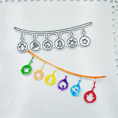 Christmas chandelier Metal Cutting Dies for DIY Scrapbooking Album Paper Cards_S