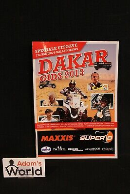 Magazine Dakar Gids 2013 (Nederlands) Maxxis / Super B version