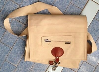 Fiat borsa in tela canvas bag, vintage anni '80