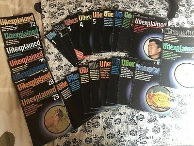 *job Lot* THE UNEXPLAINED MAGAZINE - MYSTERIES - includes Issue 1!