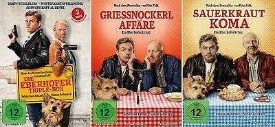 5 DVDs * EBERHOFER - ALLE 5 FILME IM FAN SET (INKL TRIPLE BOX)  # NEU OVP %