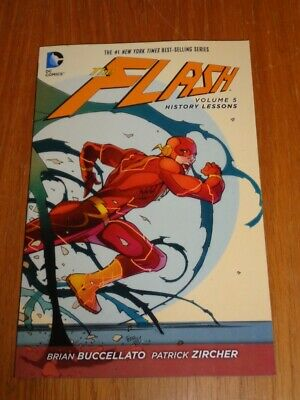 Flash History Lessons Volume 5 by Brian Buccellato (Paperback)< 9781401257729