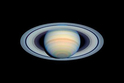 Saturn Rings Planet Solar System Outer Space inch Poster 24x36 inch