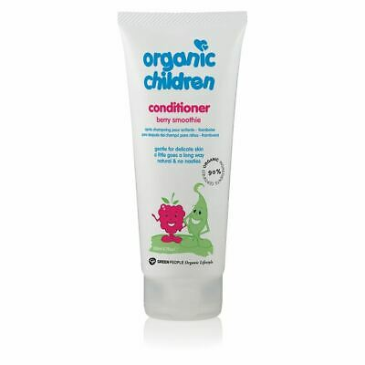 Green People Childs Berry Smoothie Conditioner - Organic 200ml x 12 Pack