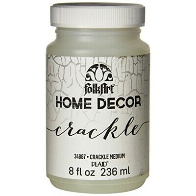 Folkart Home Decor Crackle Medium 8oz-