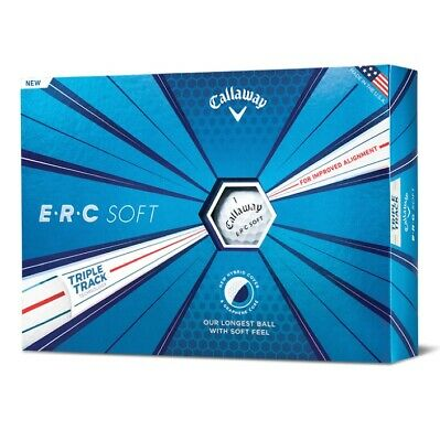 Callaway ERC Soft Golf Balls - New 2019 - FREE UK Delivery