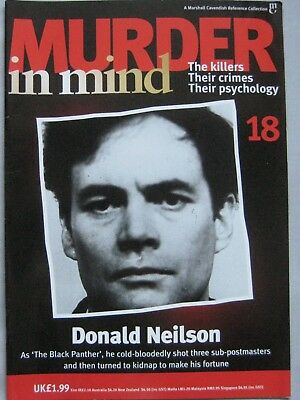 Murder in Mind Issue 18 - Donald Neilson The Black Panther