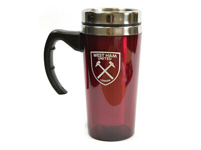 West Ham FC Official Football  Aluminium Travel Mug