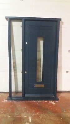 Hardwood Front Door With Side Light!!!Bespoke!!!Timber Made To Measure!!!