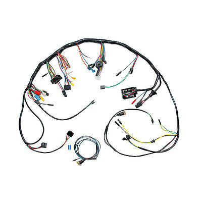CJ Classics Mustang Under Dash Wiring Harness USA Made Without Tachometer 1967