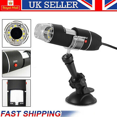 UK Digital Microscope Magnifier Wireless 1000X 2MP HD USB for PC iPhone/Android