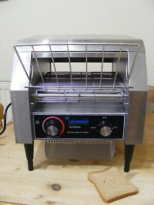 Lockhart Riviera Electric Conveyor Toaster Catering Restaurant Hotel Toaster