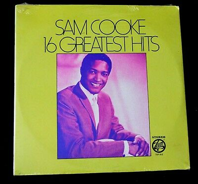 Sam Cooke-16 Greatest Hits-Pop, Easy Listening-Top-16-2-Sealed Lp