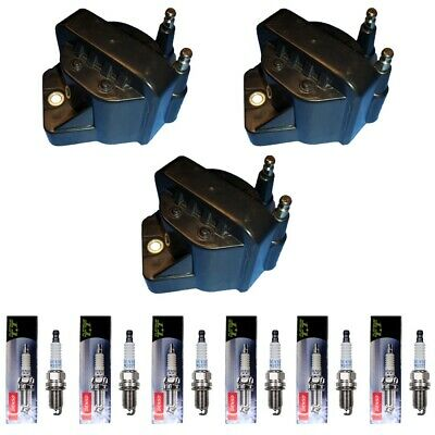 NEW ACDELCO IGNITION Coil Set (3) + (6) Denso 4504 Spark Plugs For