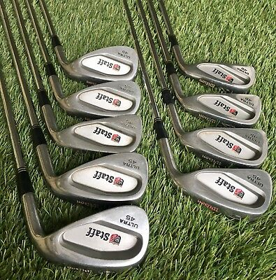 Wilson Staff Ultra 45 Iron Set 3-Sand Wedge / RL 115 Steel Shaft