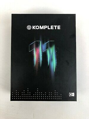 NO SERIAL/LICENSE Native Instruments Komplete 11 Virtual Instrument/Effect 160GB
