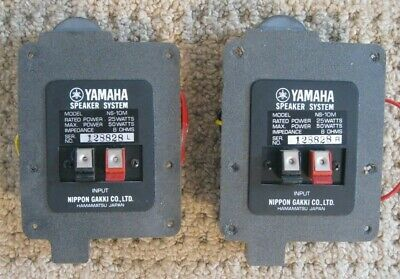 Pair of Matching Yamaha NS-10M Crossover Networks / Excellent Condition