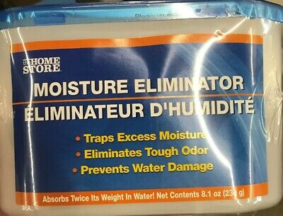 3PACK MOISTURE MILDEW /& ODOR ELIMINATOR ABSORBER BY HOME STORE CONTROLS MOLD