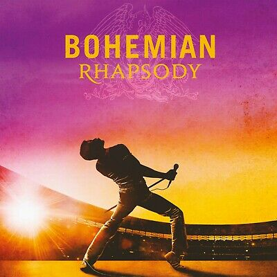 Queen BOHEMIAN RHAPSODY Movie Soundtrack HOLLYWOOD RECORDS New Sealed Vinyl 2 LP