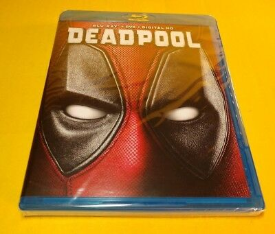 Deadpool (Blu-ray/DVD+HD Digital Code) NEW-Free Shipping w/Tracking