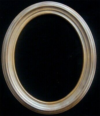 Vintage Decorative 12 x 10 in Oval ReplicaWood Picture Frame Antique Fits 10 x 8
