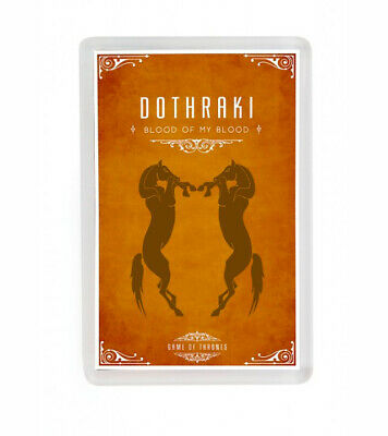 Juego De Tronos Dothraki Game Of Thrones Dothraki Fridge Magnet Iman Nevera