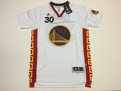 san francisco dce66 fd2d9 STEPHEN CURRY GOLDEN State Warriors 2015 CHINESE NEW YEAR ...